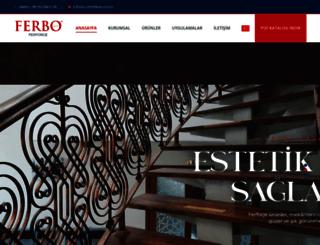 ferbo.com.tr screenshot