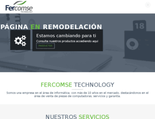 fercomse.com screenshot