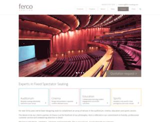fercoseating.com screenshot