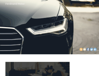 ferdinand-motor.no screenshot