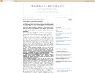 ferdinandoimposimato.blogspot.com screenshot