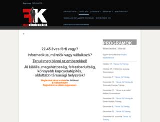 ferfikommunikacio.com screenshot