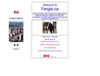 fergie.ca screenshot