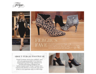fergieshoes.com screenshot