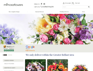 fergusonflowers.co.uk screenshot