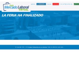 feria.trabajando.com.co screenshot