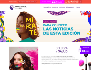 feriabellezaysalud.com screenshot