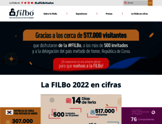 feriadellibro.com screenshot