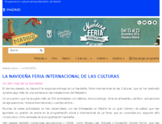 feriainternacional.navidadmadrid.com screenshot