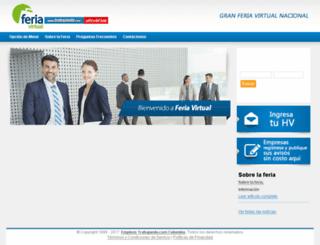 ferialaboralcolombia.trabajando.com.co screenshot