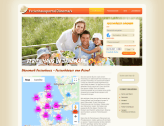 ferien-privat.dk screenshot