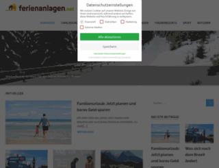 ferienanlagen.net screenshot
