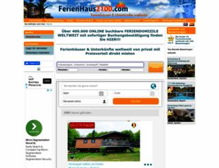 ferienhaus2100.com screenshot