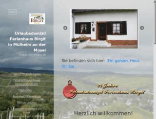 ferienhausbirgit-muelheim.de.vu screenshot
