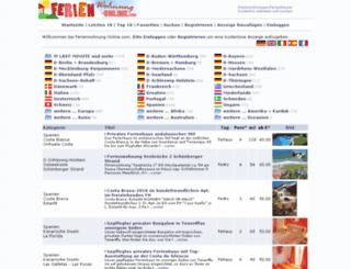 ferienwohnung-anzeigen.de screenshot