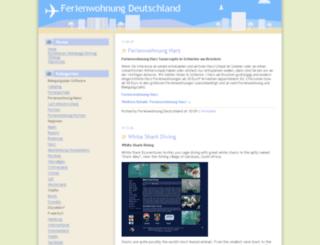 ferienwohnung-deutschland.info screenshot