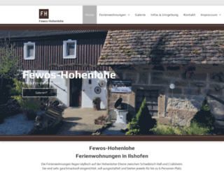 ferienwohnung-ilshofen.de screenshot