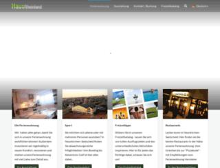 ferienwohnung-im-rheinland.de screenshot