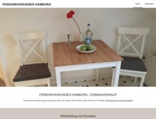 ferienwohnungen-hamburg.net screenshot