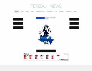 ferizajnews.weebly.com screenshot