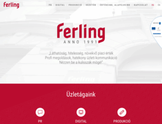 ferlingwebline.hu screenshot