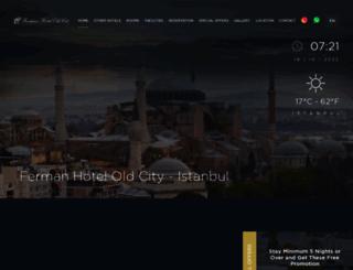 ferman-hotel-1.hotelrunner.com screenshot