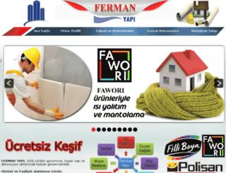fermanyapi.com.tr screenshot