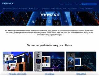 fermax.uk screenshot