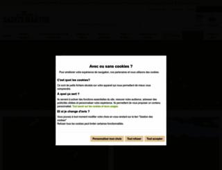 fermedesaintemarthe.com screenshot
