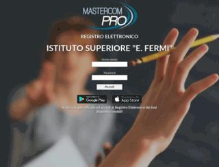 fermi-mn-sito.registroelettronico.com screenshot
