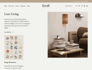 fermlivingshop.us screenshot