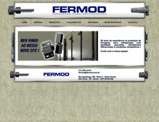 fermod.com.br screenshot