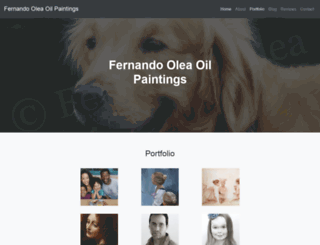 fernando-olea.com screenshot