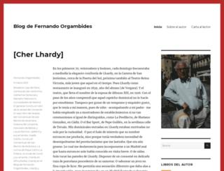 fernandoorgambides.com screenshot