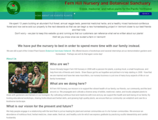 fernhillsanctuary.com screenshot