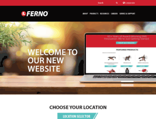 ferno.com screenshot