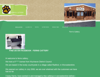 fernscattery.co.uk screenshot