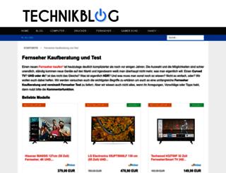 fernseher-test.eu screenshot