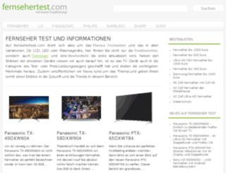 fernsehertest.com screenshot