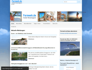 fernweh.de screenshot