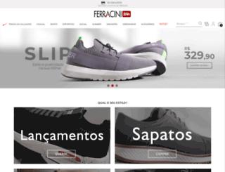 ferracini.com.br screenshot