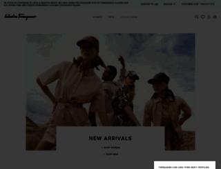 ferragamo.com screenshot