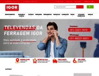 ferragemigor.com.br screenshot