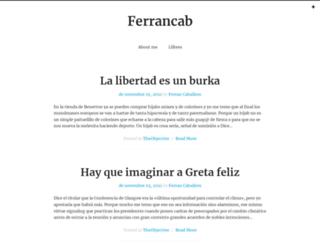 ferrancab.blogspot.com screenshot