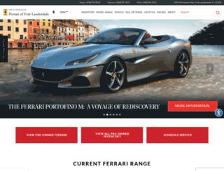 ferrarifl.com screenshot