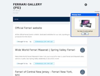 ferrarigallery.4wy.net screenshot
