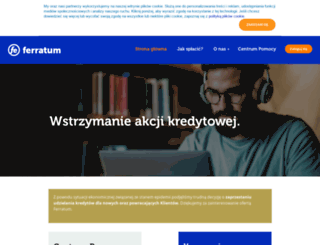 ferratum.pl screenshot