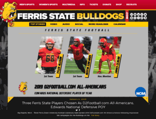 ferrisstatebulldogs.com screenshot