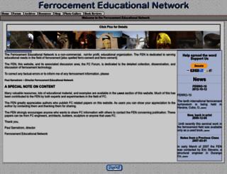 ferrocement.net screenshot