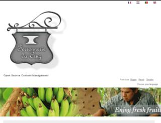 ferronneriedacruz.com screenshot